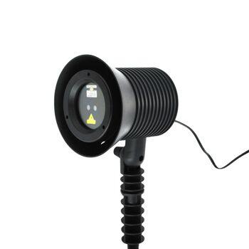 Große Palettenaktion - jetzt wird aufgeräumt - LaserLight PRO Projektor innen/außen, dynamische u statische Motive - 192 Stück