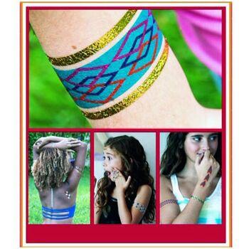 Große Palettenaktion - jetzt wird aufgeräumt - Shine Tattoos - Temporäre Tattoos für Kinder - Aufkleber - 479 Stück