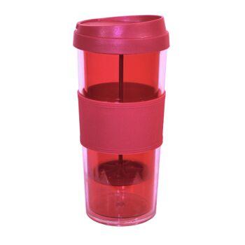 Große Palettenaktion - jetzt wird aufgeräumt - Tritan Trinkbecher Tee 460ml - Tea Maker - To Go - 398 Stück