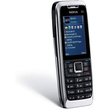 Nokia E51 Silver (UMTS, Edge, WLAN, Bluetooth, Organizer, Nokia Office Tools 2.0, 2 MP) Smartphone diverse Farben möglich.