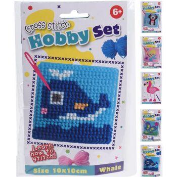 28-026799, Hobbyset Sticken zum Sticken lernen