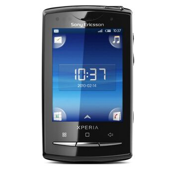 Sony Ericsson Xperia X10 mini pro (u20i) Smartphone (6,6 cm (2,6 Zoll) Display, QWERTZ-Tastatur, Android OS, WLAN, GPS, 5 Megapixel Kamera)