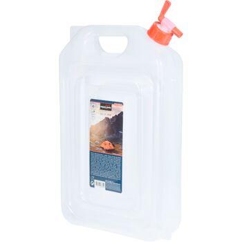 28-287640, faltbarer Wasserkanister 13 Liter, Wassertank, mit Schraubverschluss und Hahn