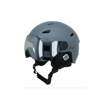 Stuf VISOR Helm,grau matt