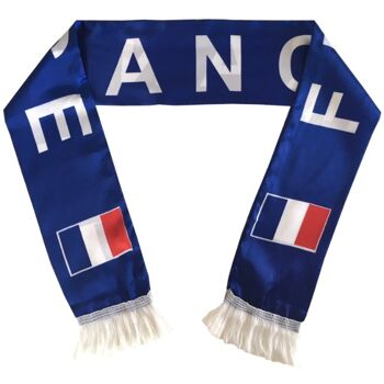 Frankreich Fan Schal Fußball Handball WM EM Schal 140cm x 14cm