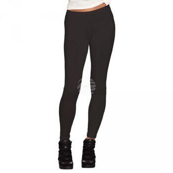 Legging blickdicht schwarz (M stretch)