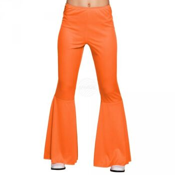 Schlaghosen orange (M stretch)
