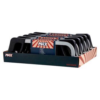 28-517021, Handbügelsäge, 300mm Sägeblatt, mit Kunststoffgriff, Handsäge, Bügelsäge