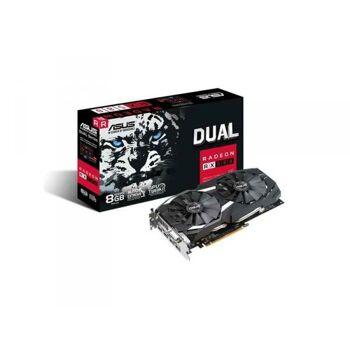 ASUS DUAL-RX580-8G Radeon RX 580 8GB GDDR5 90YV0AQ3-M0NA00