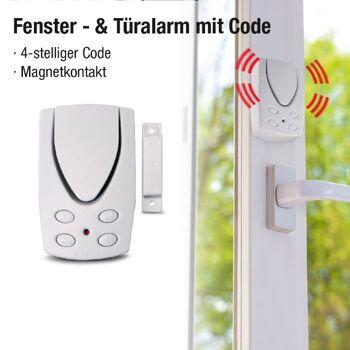 Große Palettenaktion - jetzt wird aufgeräumt - Home Secure Fenster-& Türalarm Pin Code - 159 Stück