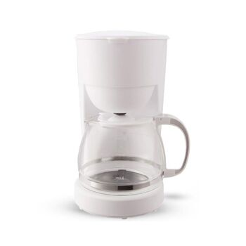 Kaffeemaschine 1,25l 750W Weiß
