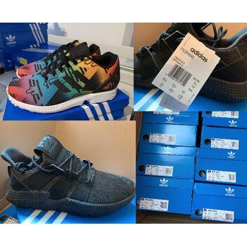 77 Paar Adidas Schuhe Sneaker Prophere (B37453) Zx Flux (S75495)