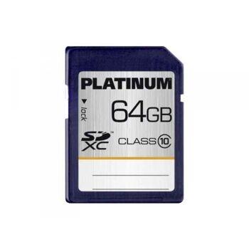 Platinum SDXC 64GB CL10 Blister