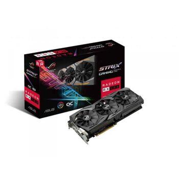 ASUS ROG-STRIX-RX580-O8G-GAMING Radeon RX 580 8GB GDDR5 90YV0AK0-M0NA00