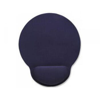 Manhattan Mauspad Schaumstoff mit Handballenauflage blau 434386