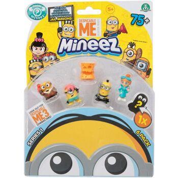 12-522396, MINIONS Figuren 6er Set