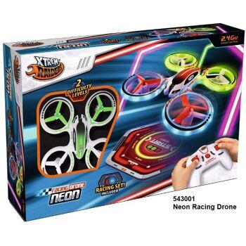 12-543001, XTREM RAIDERS, – Neon Racing Drone, 6 Kanäle, 6-Achsen Gyro und 2 Geschwindigkeiten