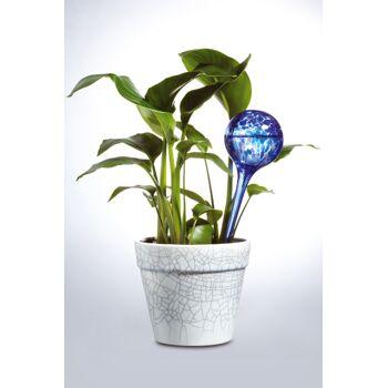 Große Palettenaktion - jetzt wird aufgeräumt - Happy Globe 2er Set weiß+ blau/green - Bewässerungskugeln - Dosierte Bewässerung - 200 Stück