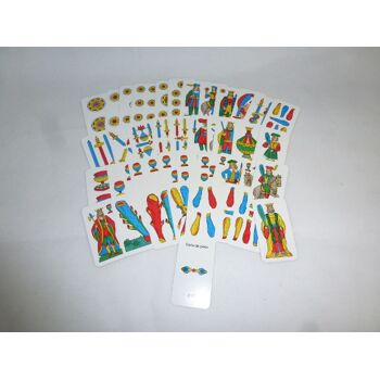 ASS Kartenspiel ROMAGNOLE Plasticate , 40 Blatt, Carte da gioco - SONDERPOSTEN