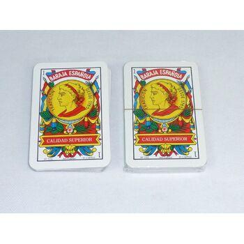 BARAJA ESPANOLA Kartenspiel, 40 Blatt - SONDERPOSTEN