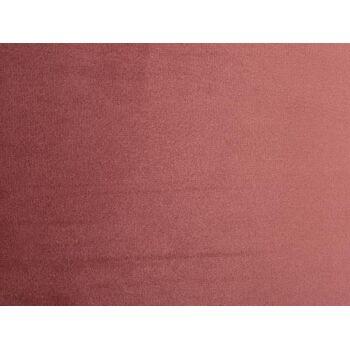 Hängeleuchte Dusky Pink D35x21 Velours Metall