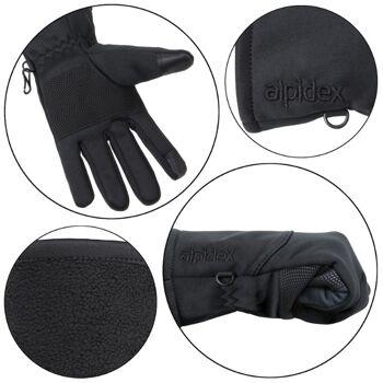 Softshell Fahrrad Handschuhe Touchscreen Laufhandschuhe * sofort lieferbar in großen Mengen
