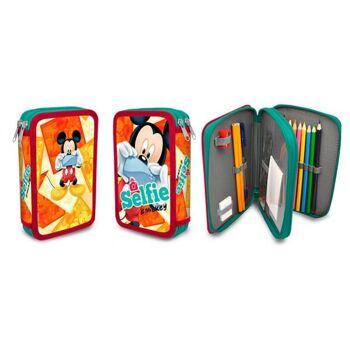 Federmappe Mickey Mouse 19,5x13,5x4 cm