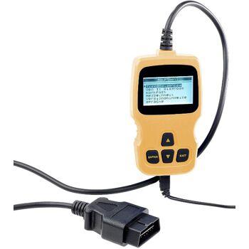 Lescars Motor OBD2 Diagnosegerät mit XL-LCD-Display Fehlerspeicher Analyse u. löschen Fahrzeugdiagnose Service