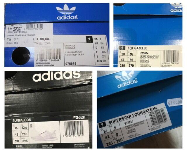 Restposten ADIDAS; NIKE Schuhe Markenware