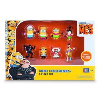 MTW Toys - Ich Einfach unverbesserlich 3 - Spielfiguren Set - 8 teilig
