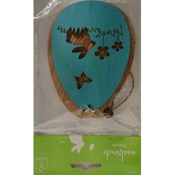12-874064, Holzdeko 2 Eier mit Band und Perle, UVP 1,79 - SONDERPOSTEN