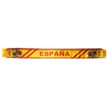 Spanien Fan Schal Fußball Handball WM EM Schal 140cm x 14cm