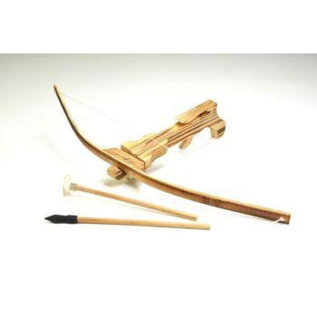 27-36733, Bambus Armbrust Set 52 cm, mit 2 Pfeilen