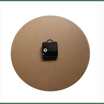 Wanduhr, Wanduhr Vintage, Wanduhr Holz, 30 cm Runde