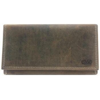 Geldbörse Portemonnaie Portmonee Brieftasche Echt Leder Damen