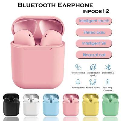 InPods i12 TWS Wireless Bluetooth 5.0 Ohrhörer Kopfhörer Kabellos In Ear Headset Airpods 8 Farben