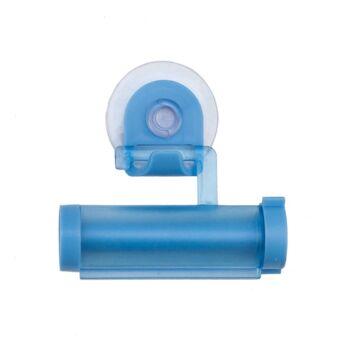 Tubenquetscher mit Saugnapf blau