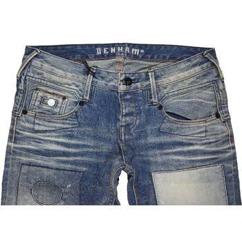 Denham BOY+ Baggy Straight Fit Damen Jeans Hose Marken Jeans Hosen 13-270