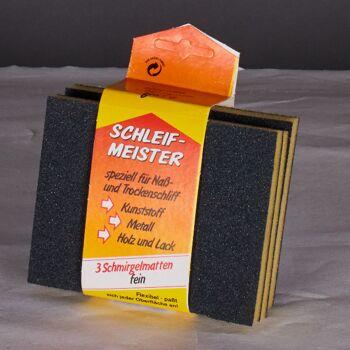 Große Palettenaktion - jetzt wird aufgeräumt - Schleifmeister 3 x fein  mit Banderole - 274 Stück