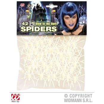 27-52050, Spinne -Glow in the dark, - Nachtleuchtende Spinnen