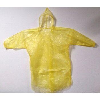 27-36462, Regenponcho für Kinder, zum Überwerfen mit Kapuze, Regenjacke, Notfallponcho