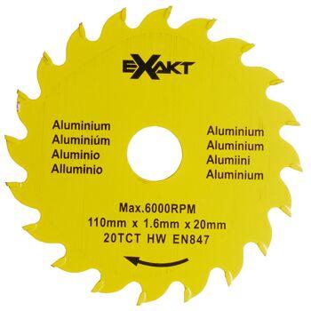 Große Palettenaktion - jetzt wird aufgeräumt - Sägeblatt Exact DC270  20TCTA für Alumin - 927 Stück