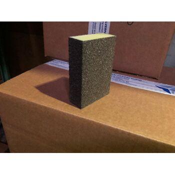 Große Palettenaktion - jetzt wird aufgeräumt - Schleifblock 4 Seiten  grob Körnung 46 - 1980 Stück