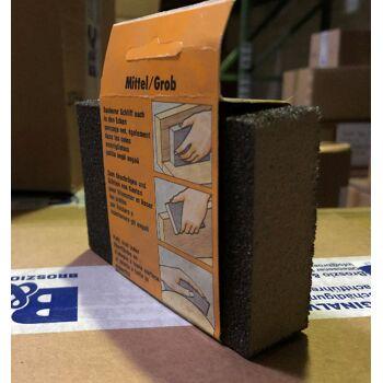 Große Palettenaktion - jetzt wird aufgeräumt - Super Sand Schleifblock  mittel/grob mit - 1343 Stück