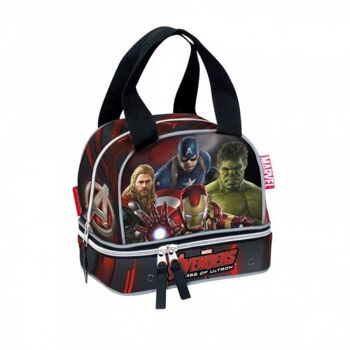 """Marvel's Avengers - """"Age of Ultron Mighty"""" Lunch Bag / Pausenbrottasche"""
