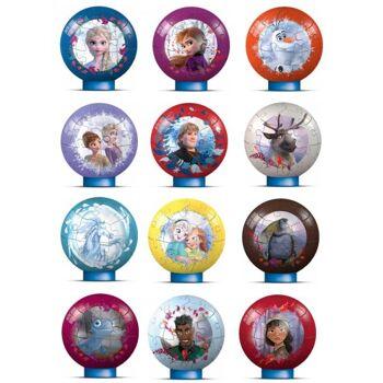 Ravensburger 11682 Disney Frozen 2 / Eiskönigin 2 3D Puzzle Ball 27 Teile - Blindpack