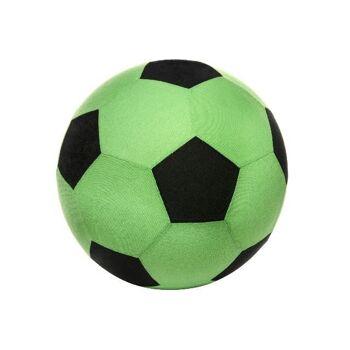 SUPER MEGABALL 50 cm, 260gr., aufblasbar, mit Stoffhülle, Wasserball, Beachball, Spielball, PVC Ball, Fussball, Fußball, Strandball