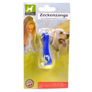 12-77127, Hunde Katzen Zeckenzange mit Schlüsselring, auch für Menschen
