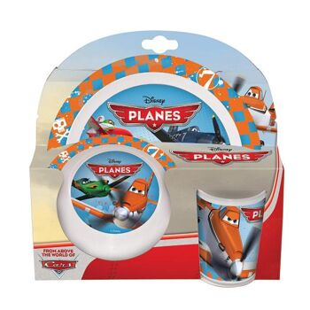 Disney Planes - 3-teiliges Melamin Set