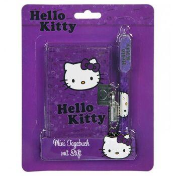 Hello Kitty - Mini Tagebuch mit Kugelschreiber